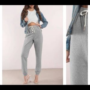 Pants - Chilled lace up joggers